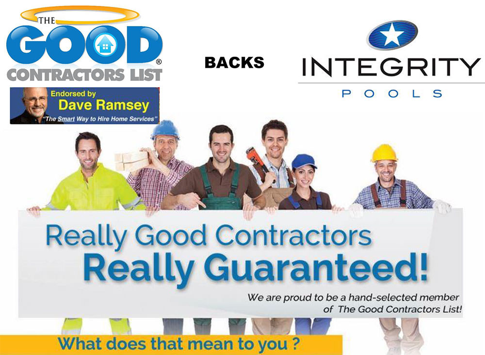 We Ve Made The Good Contractors List Integrity Pools